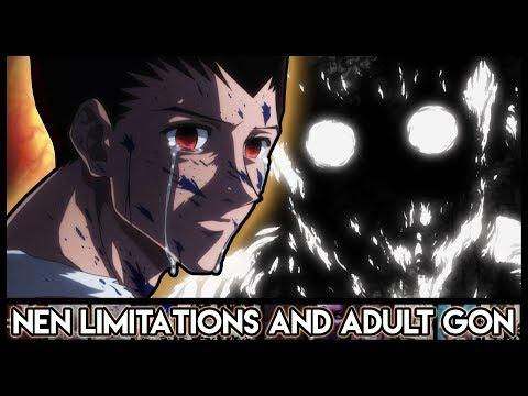 Explaining Adult Gon - Nen Limitations And Nen After Death Explained   Hunter X Hunter