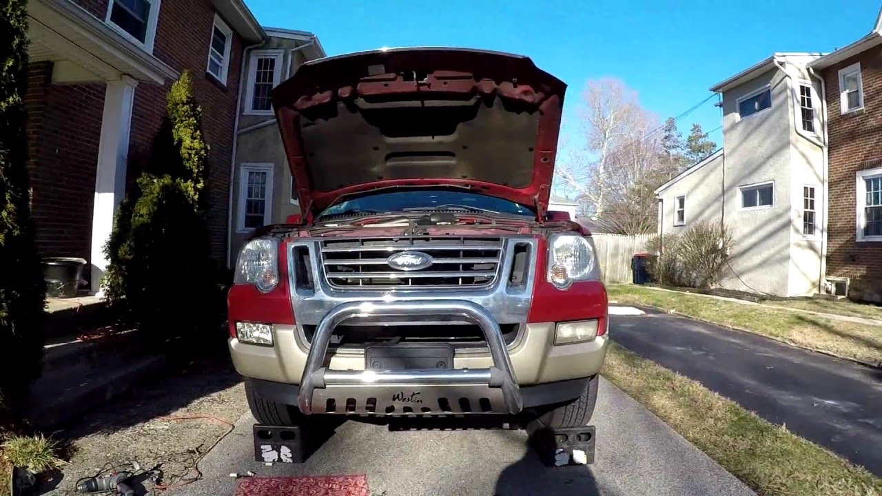 Fog Lights Wiring Diagram Ford Explorer 2006 Will 2010 Radio How To Light Housing Replacement W Rh Youtube Com 2003 Stereo