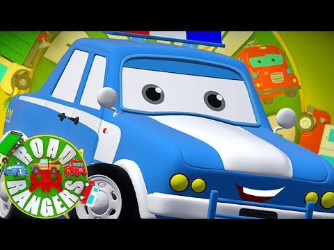 Sheriff Is Here Now  Road Rangers Cartoon Videos For Children