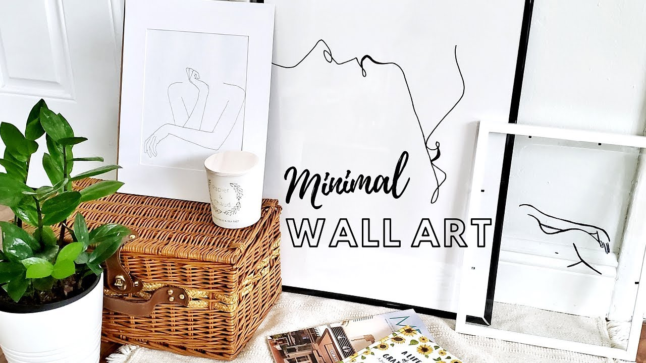Aesthetic Artsy Room Ideas For Small Rooms How To Decorate Thifty Minimal Home Decor Youtube