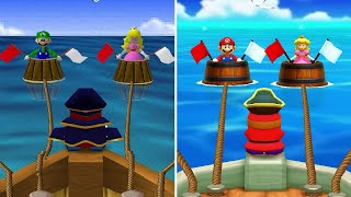 Mario Party 1 (N64) Vs. Mario Party: The Top 100 - Minigame Comparison