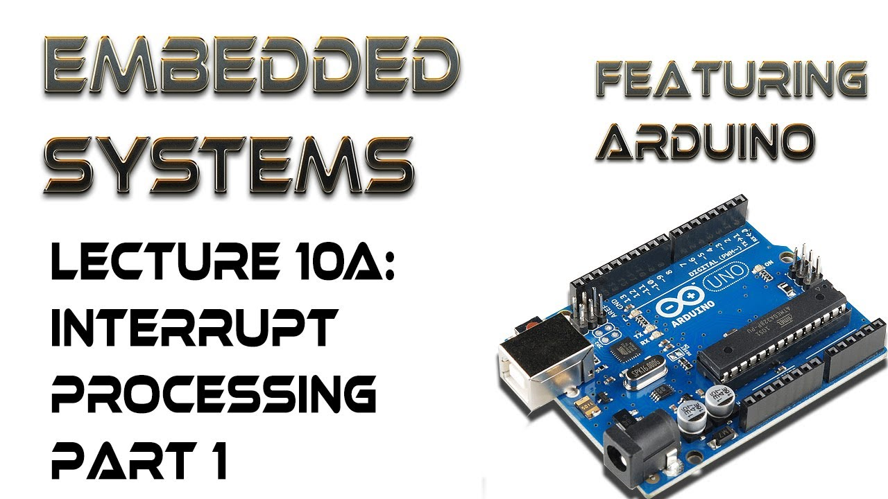A arduino interrupt processing part i youtube