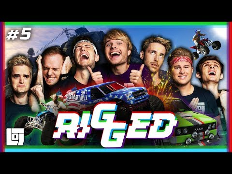 RIGGED: GTA RACE met Pascal VS Don, Jeremy, Joost, Roy, Link en Duncan | LOGS3 | #5