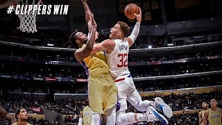 Blake Griffin Returns From Injury 24 Points! Clippers vs Lakers 2017-18 Season