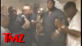 Rick Ross & Young Jeezy Fight -- The BET Awards Brawl Footage