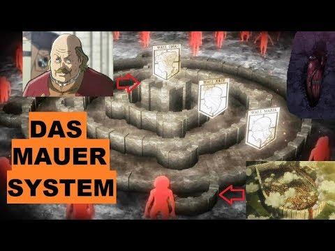 attack on titan karte Das MAUER SYSTEM in Attack on Titan erklärt!   YouTube