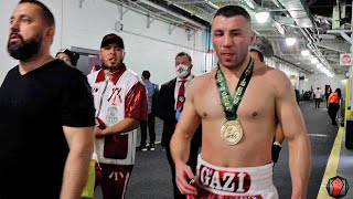 AVNI YILDIRIM GUTTED AFTER BEING STOPPED BY CANELO IN THREE ROUNDS. LEAVES MIAMI DISAPPOINTED