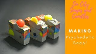 Making Psychedelic (FAIL)Artisan Cold Processed Soap Full Length Version