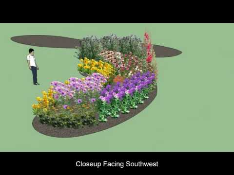 Bon My Butterfly Garden Plan Using Google Sketchup   YouTube