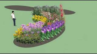 My Butterfly Garden Plan Using Google Sketchup