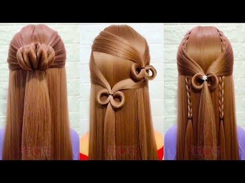 [ 美しい髪を作る] 25シンプルだが美しいヘアスタイルパート#3