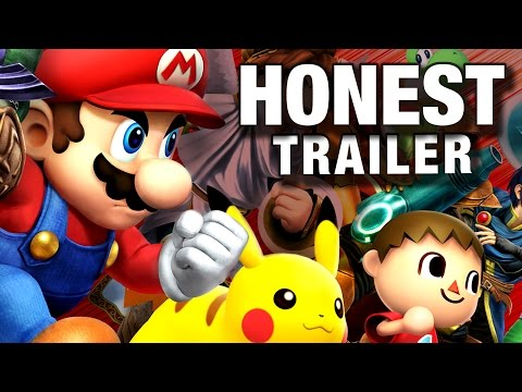 SUPER SMASH BROS (Honest Game Trailers)