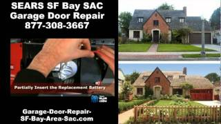 Chamberlain Garage Door Opener Battery Replacement from Sears - SF Bay - SAC - Danville - Belt Drive
