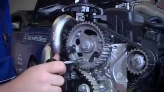 Mercedes-Benz Engine OM607 Timing Belt Replacement