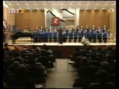 "Elif GÖKALP ~ ""Chime"" Valery Gavrilin (with TRT Ankara Radio Polyphonic Choir)"