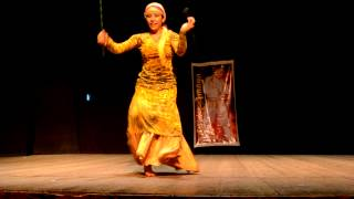 Nadia Albornoz - Nagam Sharqui - Saidi con baston