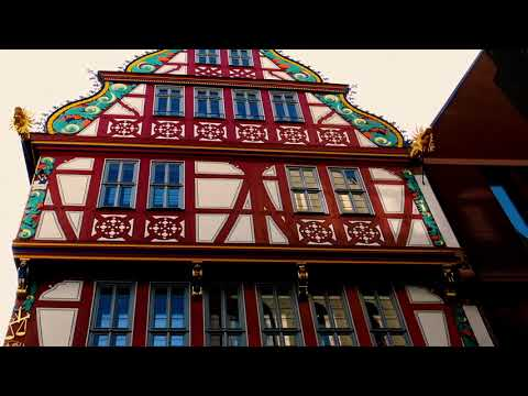 FRANKFURT AM MAIN OLD TOWN HOUSES
