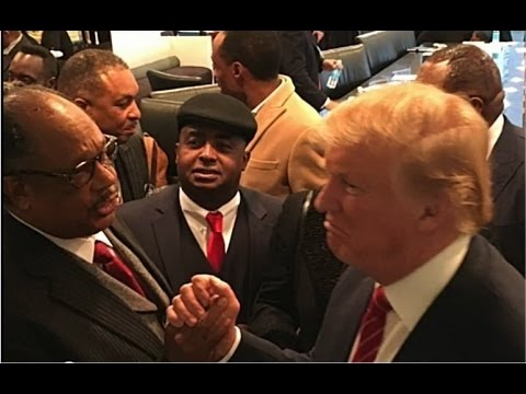 Donald Trump Fulfills Dr Kings Dream - Honorable Dr. James D