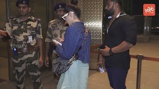 Bollywood Actress Alia Bhatt Spotted At Airport || Celebrity Latest News || YOYO TV Kannada
