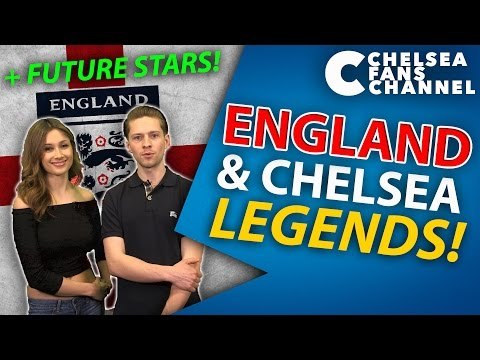 ENGLAND & CHELSEA LEGENDS! - Lampard, Terry & Cole + Future Stars!