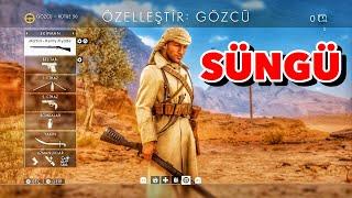 Battlefield 1 bayonet, süngü, Sniper, Martini Henry, Headshot, Kolibri, Türkçe, Ps4
