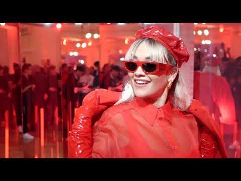 ESCADA x RITA ORA Launch Event Paris Fashion Week 19