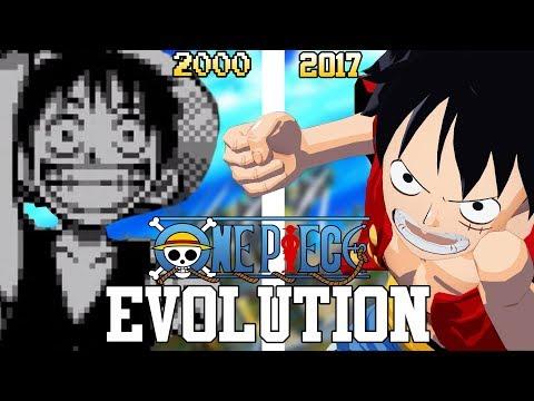 ONE PIECE GAMES - EVOLUTION (2000 - 2017) DEFINITIVE EDITION - EVOLUCIÓN HD 1080p