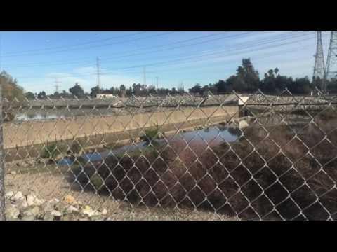 Ruta Norte del canal  San Gabriel (Los Angeles CA)