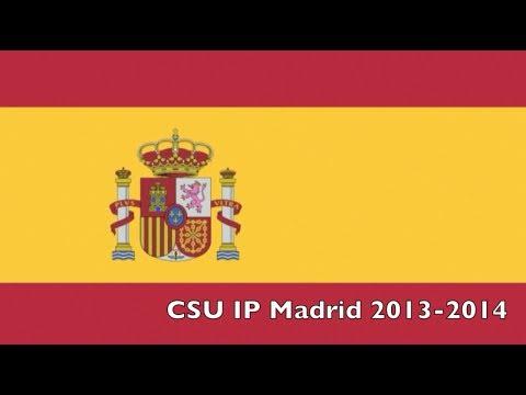 CSU IP Madrid 2013-2014