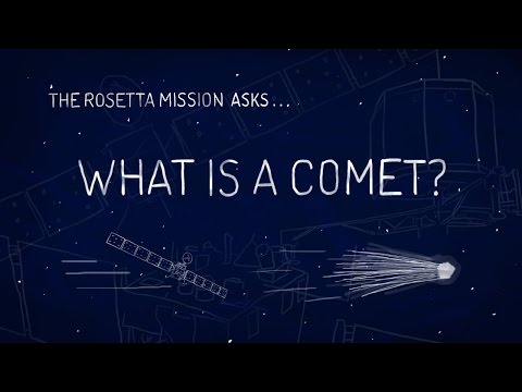 A Cosmic First! Rosetta Probe Goes Into Odd-Duck Orbit Around Comet