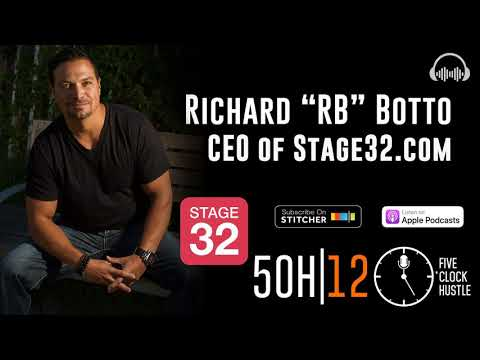 How to be a Creative and a CEO w/ Stage32 Founder, Producer and Crowdsourcing expert Richard...