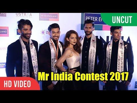 UNCUT - Peter England Mr India Contest 2017 | Kangana Ranaut, Manish Malhotra
