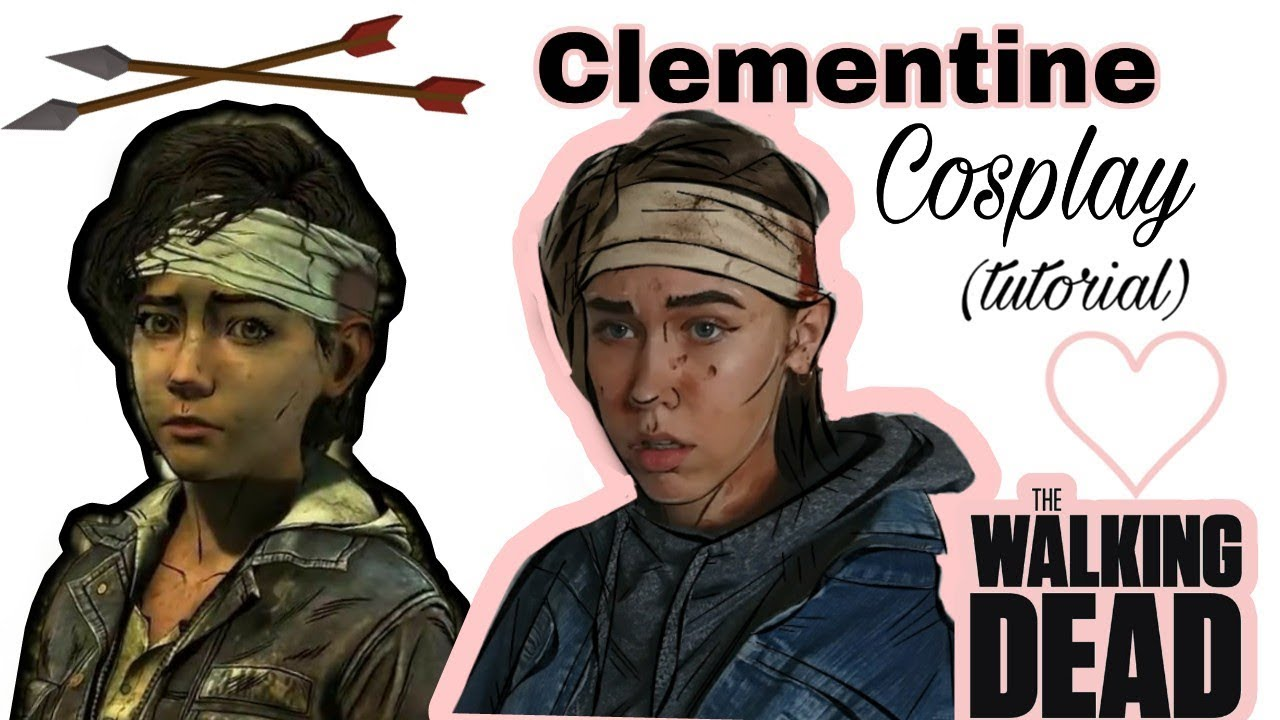 The Walking Dead Clementine Cosplay Tutorial