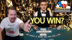 INSANE Ultimate Texas Hold'em Big Win Streak