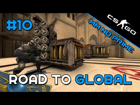 CS:GO - Smurf Road to Global - MM No prime #10