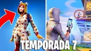 Fortnite: LEAKED SKINS FROM SEASON 7, NEW CREATIVE MODE and SNOW MAP ‹ ‹ P3DRU › ›