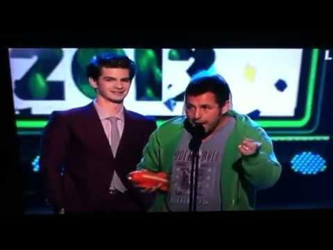 Adam Sandler on Kids Choice Awards 2012