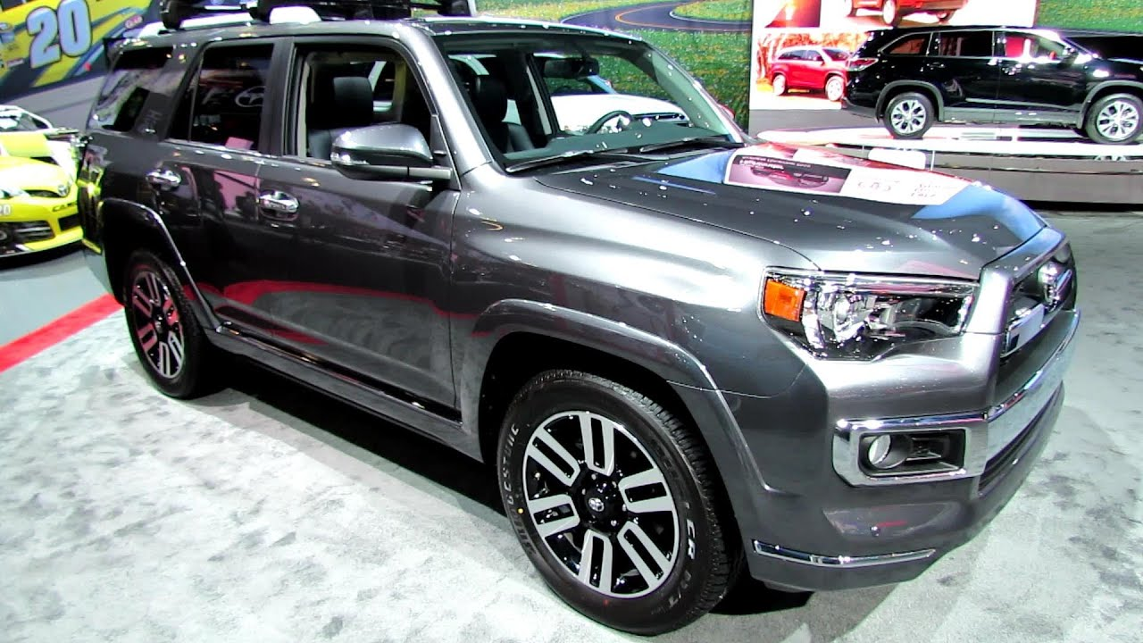 2014 Toyota 4runner Limited Exterior And Interior