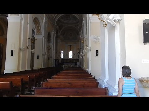 Cathedral of San Juan Bautista.  Via Carnival cruise ship