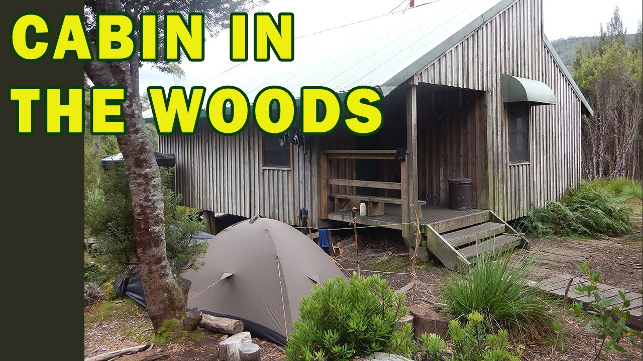 cabin camping in the woods. cabin in the woods camping part 1 refuge hut campsite