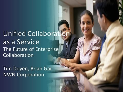 2015 TT Session 3: Unified Communications As A Service - NWN