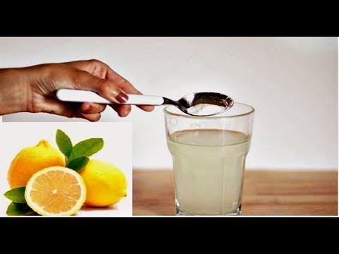 сода с лимоном от паразитов