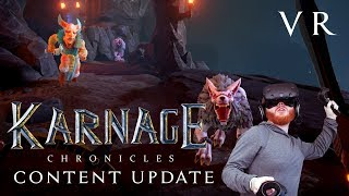 Karnage Chronicles: VR RPG gameplay from the new content update