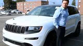 2016 SRT NIGHT Jeep Grand Cherokee Test Drive + Interior Review
