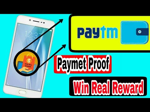 Win Real Reward Paytm Cash  App payment proof. How to make earn online.