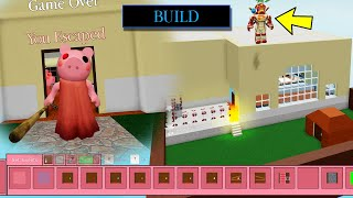 ROBLOX PIGGY BUILD MODE!! PIGGY BROKE INTO MY HOUSE?! I Bulit My Own Map and Escaped the Piggy.