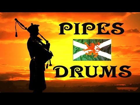 Pipes & Drums ~ Barren Rocks of Aden ~ Kings Own Scottish Borderers.