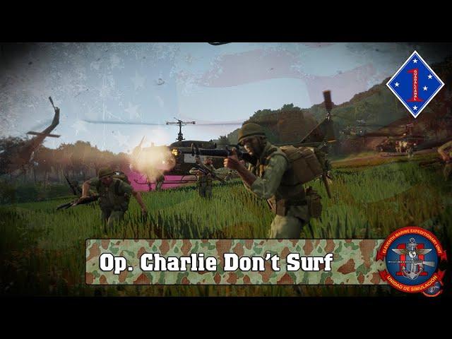 ARMA 3 | Op. Charlie dont Surf VIETNAM | 11ThMEU (SOC) | Español