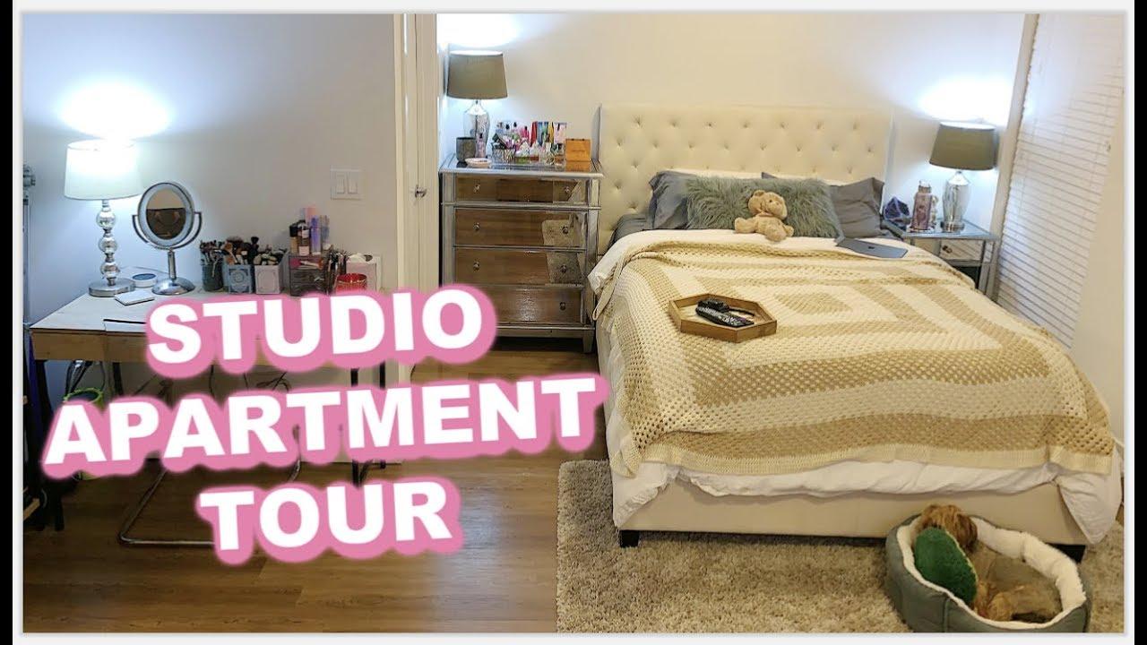Luxury Los Angeles Studio Apartment Tour