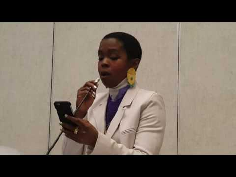 Lauryn Hill-Middle School Speech 2016